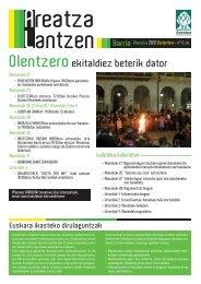 Areatza Lantzen Barria 6 - 2012 Abendua (Pdf ... - Areatzako Udala