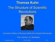 Thomas Kuhn - Economic History