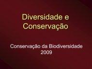 Conservação Biológica