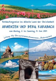 PDF Armenien   Zimmermann - KulTOUR Ferienreisen