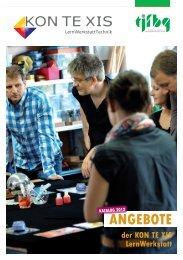 Angebote der KON TE XIS LernWerkstattTechnik für 2012