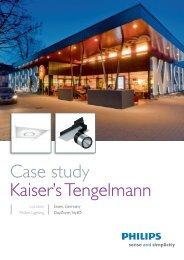Case Study Kaiser's Tengelmann ENG.indd - Philips