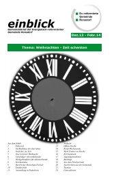 1304g.pdf - Ev. Reformierte Gemeinde Ronsdorf