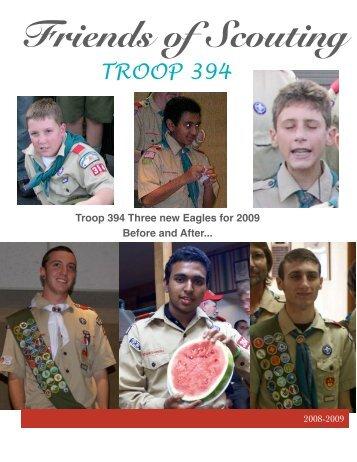 Friends of Scouting - Troop 394