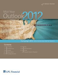 Mid-Year Outlook 2012 - Financial Planning Consultants, LLC