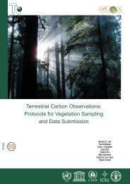 Terrestrial Carbon Observations: Protocols for Vegetation ... - FAO