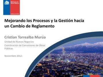 Mejorando los Procesos y la Gestión hacia un Cambio de Reglamento