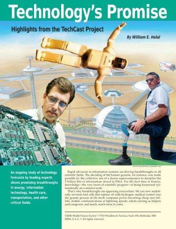 Technology's Promise - World Future Society