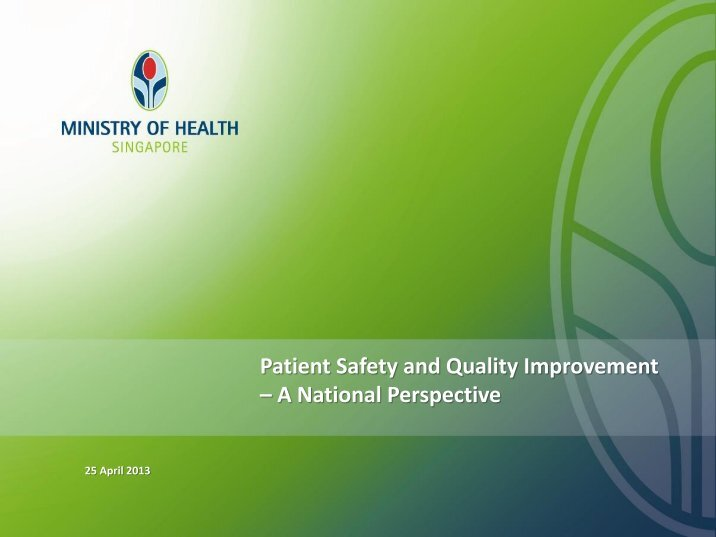 patient safety quality improvement proposal essay Patient safety is a primary concern for every health care worker safety concerns begin the moment a patient enters a health care facility to the point at which the patient is discharged yet there are many points where quality and safety can break down.