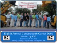 2012 K4C Construction Career Day - Kentucky Department of ...