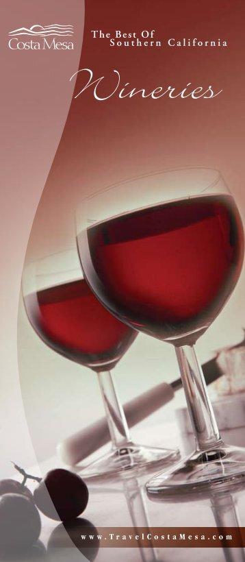 Wineries - Costa Mesa