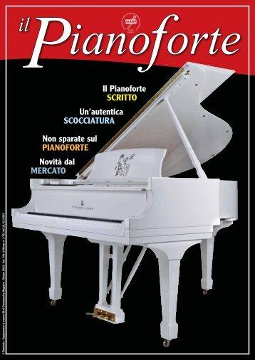 Il Pianoforte SCRITTO Un'autentica SCOCCIATURA ... - Dismamusica
