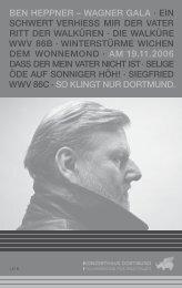 Ben Heppner singt Wagner - Konzerthaus Dortmund