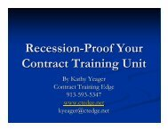 Recession-Proof Your Contract Training Unit Lumens - Augusoft