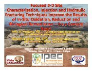 Session: Remediation of Groundwater & Soils III Thursday ... - IPEC