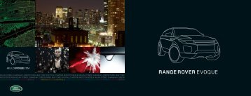 BERLIN MILAN SYDNEY SHANGHAI LONDON PARIS ... - Land Rover