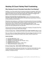 Hershey 52 Count Variety Pack Fundraising - Easy Fundraising Ideas