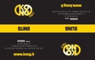 Slings - Kong