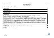 Teilergebnisplan - Produkt - 0106 - Information und ... - Hemer