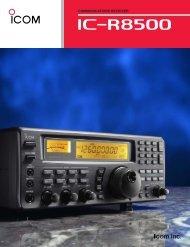 IC-R8500 L - Icom Australia