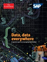 Data, data everywhere - Artificial Intelligence Laboratory