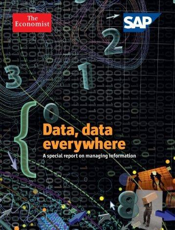 Data, data everywhere - Artificial Intelligence Laboratory