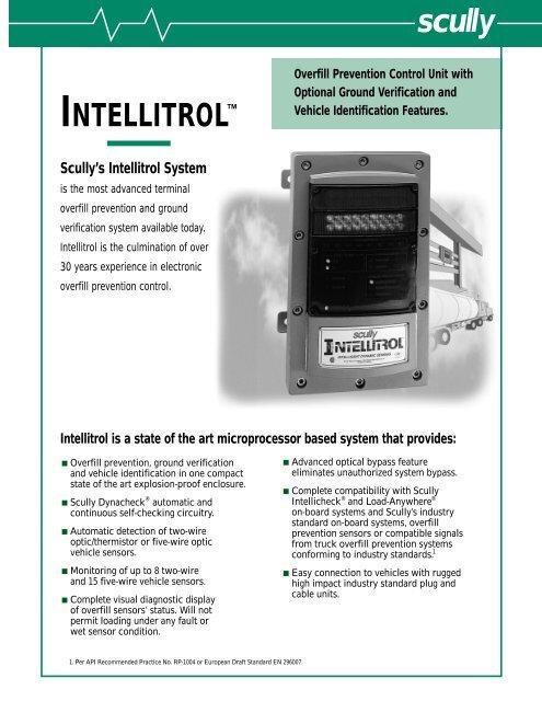 Intellitrol Overfill Prevention Control Unit Acme Fluid Handling