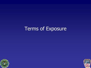 Terms of Exposure
