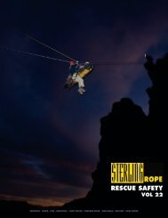 Info | Sterling Rope Rescue Safety Catalog 2010 (pdf)