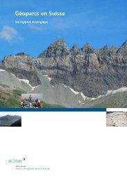 rapport stratégique I Des géoparcs - Platform Geosciences - SCNAT