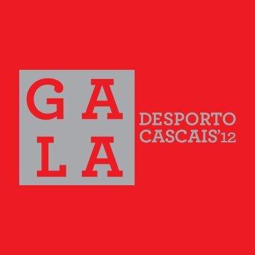 Brochura Gala do Desporto 2012 - Câmara Municipal de Cascais