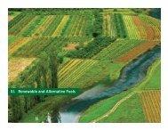 XI. Renewable and Alternative Fuels