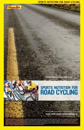 SportS nutrition for road cycling - PowerBar.Com