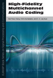 High-Fidelity Multichannel Audio Coding- by Dai Tracy Yang ... - TACS