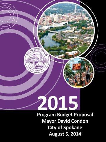 spokane-2015-program-budget