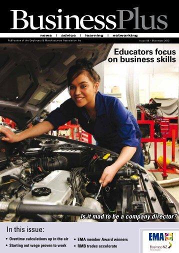 Business Plus November 2012 - EMA