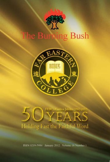 Click here for free download - Far Eastern Bible College