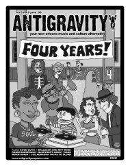June 2008 (PDF) - Antigravity Magazine