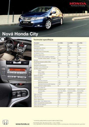 Nová Honda City - Auto Jarov