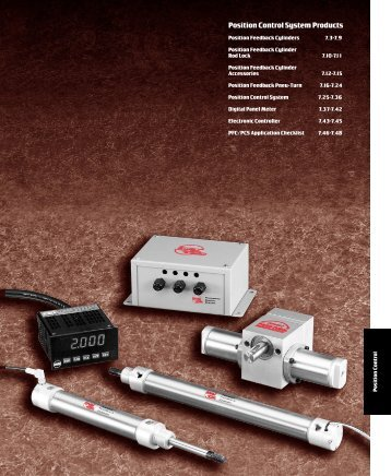 Position Control System Products - x-pro GmbH