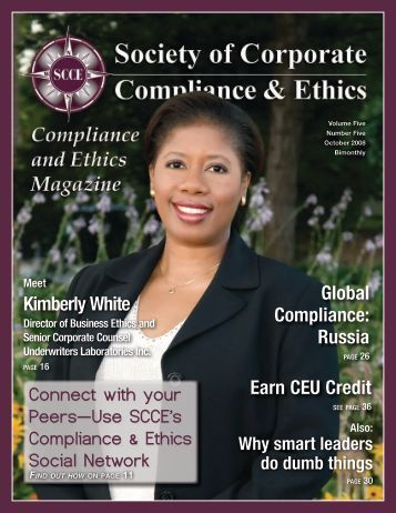 Corporate Compliance & Ethics Week at The Home Depot