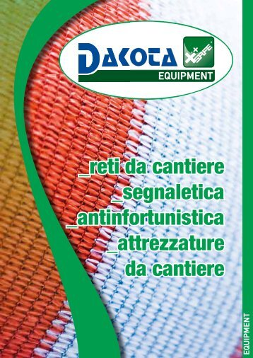 Catalogo Dakota Equipment - Guida Edilizia