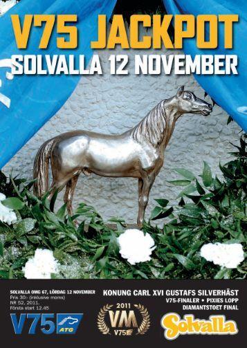 12 november - Solvalla