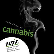 cannabis - National Cannabis Prevention and Information Centre ...