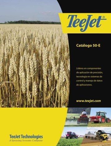 Catálogo 50-E - TeeJet