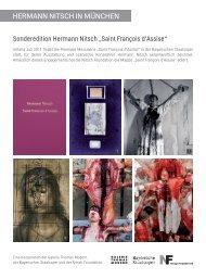 Download Informationsblatt - Nitsch Foundation
