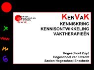 Onderzoeksprojecten - KenVaK - Zuyd