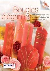 Bougies élégantes - Glorex