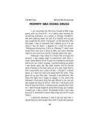 MOMMY WAS DOING DRUGS - Marijuana Anonymous