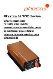 Phocos SI 700 Series - Phocos.com